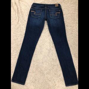 Women's AEO Skinny Jeans SZ 8 X-Long